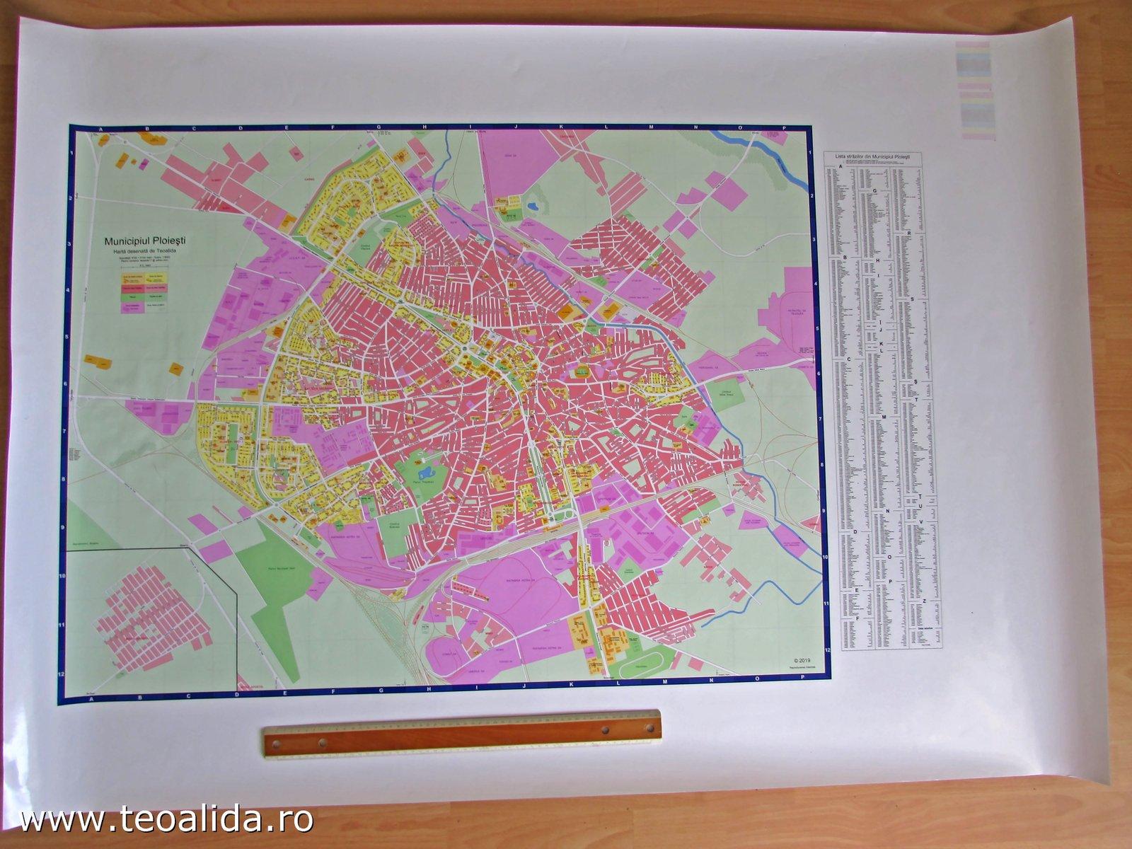 Harta Cu Blocuri Ploiesti Si Orasele Din Imprejurimi Site Ul