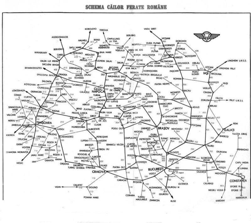 Harta CFR 1980